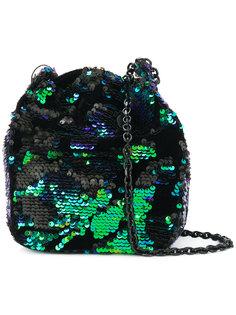 сумка на плечо с пайетками Kendall+Kylie