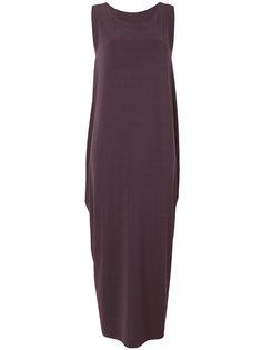 удлиненное платье-шифт Issey Miyake