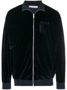 велюровая куртка-бомбер  Golden Goose Deluxe Brand