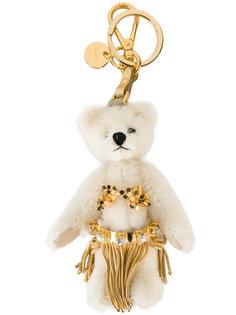 брелок для ключей в виде медведя Prada