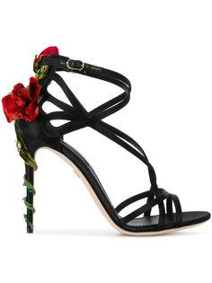 босоножки на шпильках Jewel Keira  Dolce & Gabbana