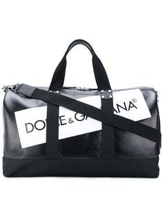 брендированная дорожная сумка  Dolce & Gabbana