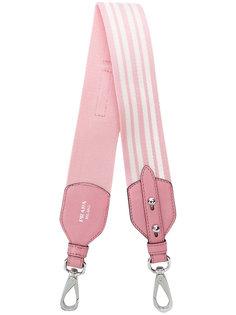 ремень для сумки в полоску Prada