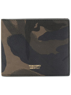 бумажник с камуфляжным принтом Tom Ford
