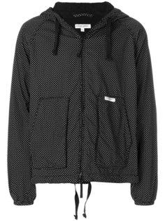 куртка с капюшоном с узором в горох Engineered Garments