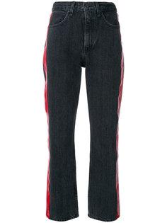укороченные джинсы с полосками по бокам Rag & Bone /Jean