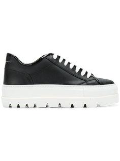 кроссовки на ребристой подошве Mm6 Maison Margiela