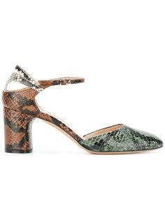 туфли на каблуках-столбиках Casadei