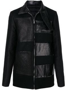 куртка-пуховик с нашивками Rick Owens