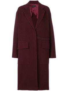 пальто с карманами с клапанами Joseph