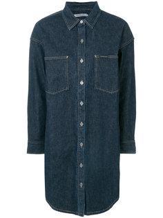джинсовое платье-рубашка  Calvin Klein Jeans