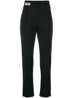 классические укороченные брюки Fendi