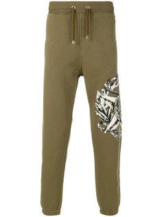 спортивные брюки с принтом животных Just Cavalli