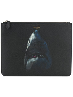 shark print pouch Givenchy