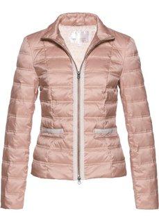 Куртка-пуховик с аппликацией (розовый) Bonprix