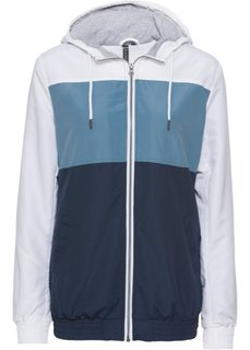 Куртка для фитнеса (синий жемчуг/темно-синий/белый) Bonprix