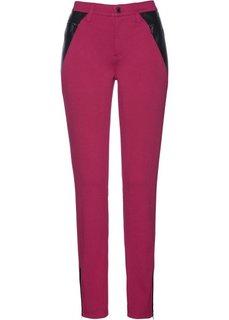 Трикотажные брюки (ягодно-красный) Bonprix