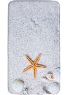 Коврик для ванной Пляж, пена с эффектом памяти (кремовый) Bonprix