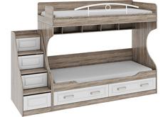 Кровать детская двухъярусная Прованс-001