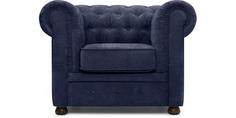 Кресло Честер Velvet Blue