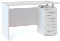 Компьютерный стол КСТ-106.1 Белый