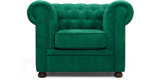 Кресло Честер Velvet Emerald