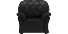 Кресло кожаное Рузвельт Black
