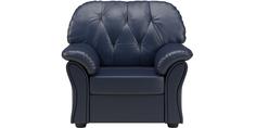 Кресло кожаное Рузвельт Blue