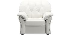 Кресло кожаное Рузвельт White