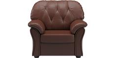Кресло кожаное Рузвельт Brown