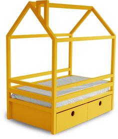 Кровать детская Дрим Box Yellow