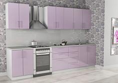 Кухонный гарнитур Арго-3 Лиловый