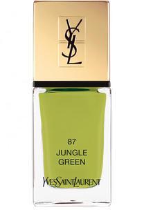 Лак для ногтей La Laque Couture, оттенок 87 YSL Saint Laurent