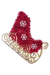 """Новогодняя скульптура """"Сани"""" DUE ESSE CHRISTMAS"""