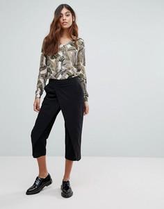 Многослойные брюки Vero Moda - Черный