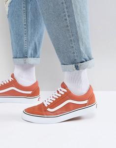 Оранжевые кроссовки Vans Old Skool VA38G1QSP - Оранжевый