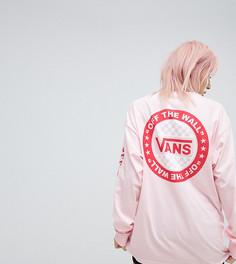 Розовый оверсайз-лонгслив Vans эксклюзивно для Asos - Розовый