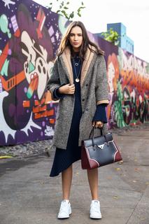 утепленное пальто La Reine Blanche