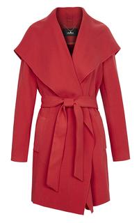 Легкое пальто-халат с поясом LE Monique