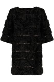 Шуба - трансформер  из меха козлика Virtuale Fur Collection