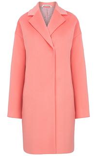 Укороченное шерстяное пальто Pompa