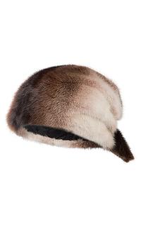 женская шапка-бандана из меха норки Slava Furs
