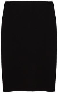прямая юбка из трикотажа La Reine Blanche