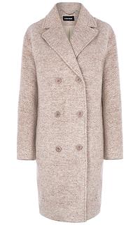 Двубортное пальто La Reine Blanche