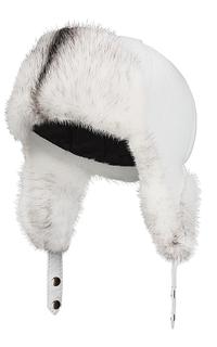 шапка-ушанка с мехом норки Slava Furs