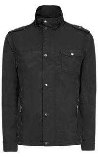 Черная мужская куртка Urban Fashion for men