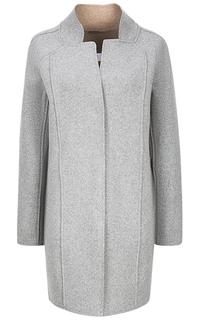 шерстяное пальто с фигурным воротником La Reine Blanche