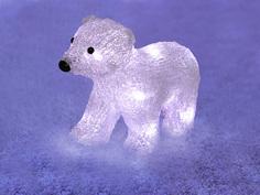 Новогодний сувенир Neon-Night Медвежонок 513-312