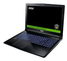 Ноутбук MSI WE62 7RI-1881RU 9S7-16J572-1881 (Intel Core i7-7700HQ 2.8 GHz/16384Mb/1000Gb + 128Gb SSD/DVD-RW/nVidia Quadro M1200 4096Mb/Wi-Fi/Bluetooth/Cam/15.6/1920x1080/Windows 10 Pro 64-bit)