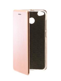 Аксессуар Чехол-книга Xiaomi Redmi Note 4X Monsterskin Book Pink Gold 10576